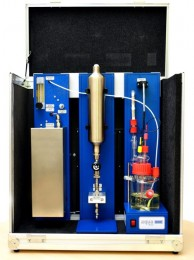 AQUA 40.00 with LPG/LNG Module in a carrying case